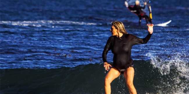 Surfing Pregnant