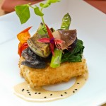 Crispy Curry Tofu-Brown's Beach House at Fairmont Orchid
