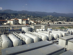 Original Santa Barbara desalination plant, now being retooled