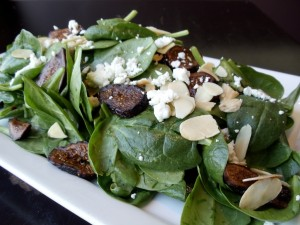 Spinach Fig Salad